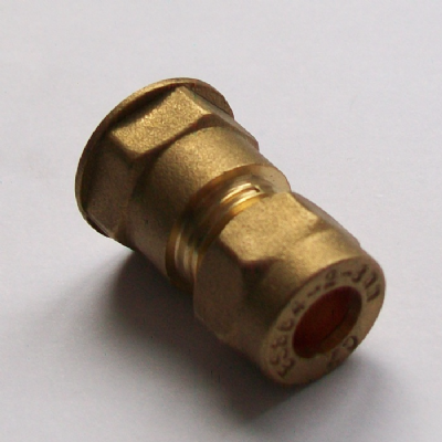 Brass Compression 8mm x 1/4 inch Female - 24410800